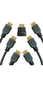 hdmi 1.4 1.3 hd 1080p 3d ethernet high resolution 3 6 10 15 ft high speed supports 4k audio return