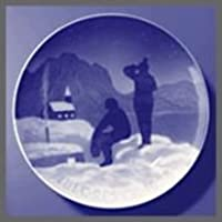 1928 Bing & Grondahl 圣诞节板 - Eskimos