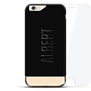 Anonymous MASK FACE 耳道式/入耳式LUX-I6PL24K360-NMALBERT2 Albert, Modern Font First Name Velvet Black & Gold