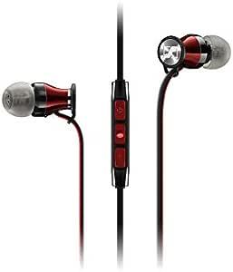 Sennheiser 森海塞尔 入耳式有线耳机 Android附带遥控器 MOMENTUM In-Ear G 颜色:红色/黑色_M2 IEG RED 508690