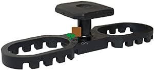 KARLE & RUBNER,黑色 7113 K&R Terraflex N6 带螺栓 C1,5x35mm 用于铝底结构内容:30 个