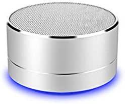 扬声器,金属,蓝牙,适用于索尼 Xperia 5,智能手机,USB端口,TF 卡,辅助扬声器,Micro Mini(银色)