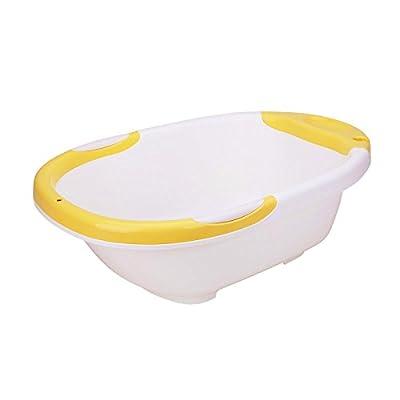 IRIS 爱丽思 儿童浴盆家居洗澡盆宝宝洗澡盆儿童浴缸 57AC 白色/黄色边沿(供应商直送)