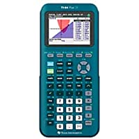 Texas Instruments TI-84 Plus CE 手持式图形计算器,青色,84PLCE/TBL/1L1/A…