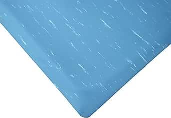 """Rhino Mats TT-R36BLX21 Marbleized Tile Top, Anti-fatigue Mat,  3' x 21' x 1/2"""", Blue"""