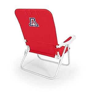 PICNIC TIME NCAA 亚利桑那野猫摩纳哥折叠沙滩椅