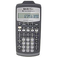 Texas Instruments 德州仪器 TI BAII plus 金融计算器 (CFA/FRM/SOA/AFP/C…