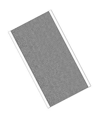 3M 3380 12.70 厘米 x 22.13 厘米 - 25 银色铝箔胶带,-30 至 260 度 F ,0.0033 英寸厚,22.59 厘米长,12.70 厘米宽(25 件装)