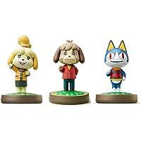 3 件裝套裝 [Digby/Rover / Isabelle Winter](動物十字游戲系列)適用于 Nintendo…