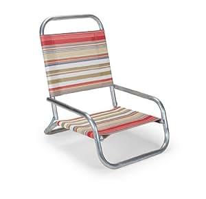 伸缩式休闲太阳和沙子折叠沙滩椅 多种颜色