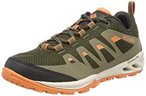 Columbia Women's Vapor Vent Low Rise Hiking Shoes, Green (Nori/Jupiter), Size 6.5 海外卖家直邮