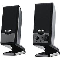 Edifier 漫步者 R10U 2.0声道 多媒体音箱 黑色
