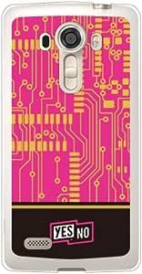 YESNO 电板 粉色 (软TPU透明) / for isai vivid LGV32/au ALGV32-TPCL-701-Q193