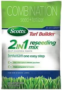 Scotts Lawns 18315 Turf Builder Sun & Shade Reseeding Mix, 5,000-Sq. Ft. Coverage, 20-Lbs. 24