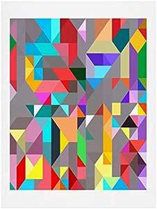 "Deny Designs Three of The Possessed Modele Art Print 18"" x 24"" 17026-artpr4"
