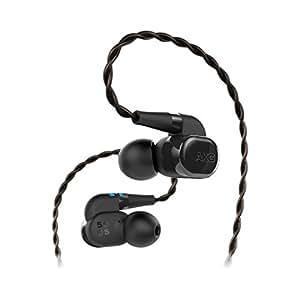 AKG N5005 高清晰入耳式耳机 无线蓝牙耳机 圈铁混合五单元旗舰HiFi耳机 钢琴黑