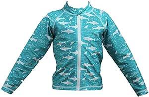 Ryuna 水陆两用 儿童长袖全拉链 80cm~130cm 防紫外线 RY19-E 薄荷绿 100