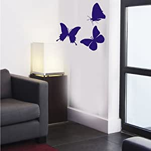 墙壁贴纸 W900美丽蝴蝶墙壁艺术贴纸