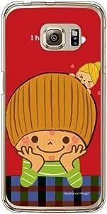 COVERFULL *喜歡你(透明) Design by Ringo / For Galaxy S6EDGE SCV AU ascv3121/au map6Samsung