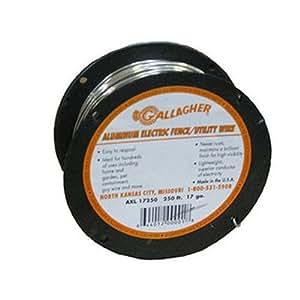 Gallagher AXL17250 17-Gauge Aluminum Wire Fence, 250-Feet