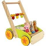 Small Foot by Legler 学步车 动物游行 彩色动物设计 可帮助儿童*次步行,跑步时的动物形象 12 个…