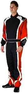 K1 Race Gear Apex 2 级赛车套装 XXXXXXX-Small 红色 10-APE-R-7XS