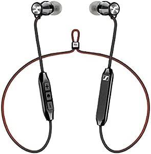 Sennheiser 森海塞尔 HD1Free蓝牙无线耳机,带有Qualcomm Apt-X和AAC的蓝牙4.2耳机、6小时的电池寿命,1.5小时的快速USB充电,多连接到2个设备