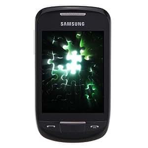 三星S3850(samsung S3850)GSM手机(增强型触控体验,酷毕二代,再现经典,黑色)
