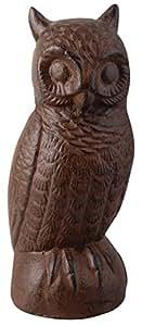 Esschert 设计铸铁装饰猫头鹰 大 TT124
