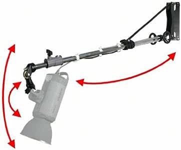 Walimex 专业壁挂式吊杆,带曲柄