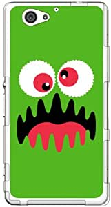 YESNO 一代 怪兽 * (软TPU透明) / for Xperia J1 Compact D5788/MVNO智能手机(SIM免费终端) MSOJ1C-TPCL-701-Q102