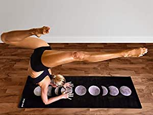Yoga Zeal 瑜伽垫奢华柔软印花,防滑,环保热卖瑜伽垫。 用汗瑜伽练习来抓住更好!