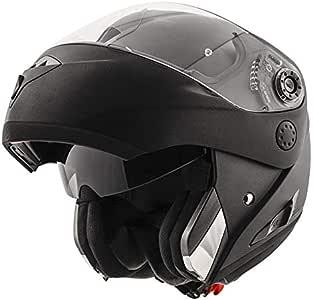 Astone Helmets Shark 模块化头盔 Openline 黑色 哑光 尺寸 XS HE9652EKMAXS