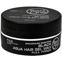 RedOne AQUA HAIR GEL WAX Full Force 黑色 - 5 盎司/150 毫升