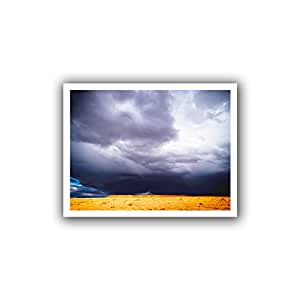 ArtWall Dean Uhlinger 'Navajo Monsoon' Unwrapped Canvas Wall Art, 18 by 22-Inch