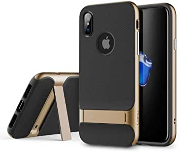 ALASATEK 塑料保护壳 iPhone X/XS 金色
