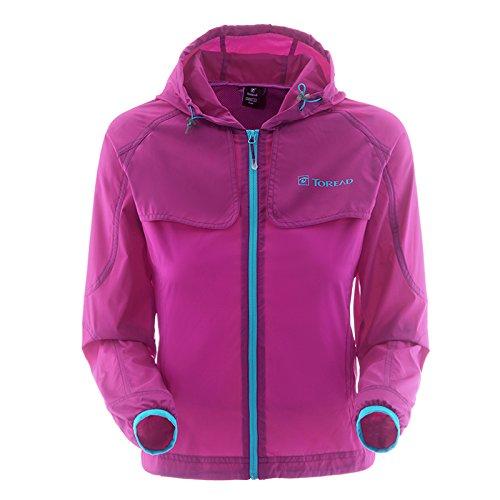 Toread 探路者 TREKKING 女式 徒步皮肤衣 TAEC82697-E11X 艳紫 155/84B