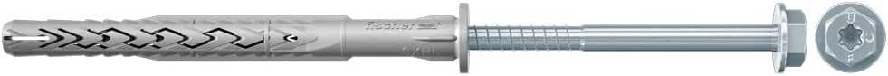 """Fischer 530948 14 x 120 mm""""SXRL-FUS"""" 框架固定装置 - 锌(50 件)"""