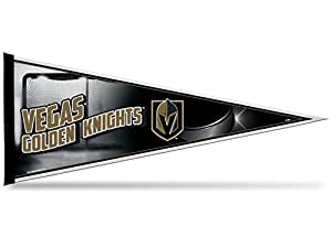 Rico Industries NHL Vegas Golden Knights Pennant,黑色,30.48cm x 76.20cm