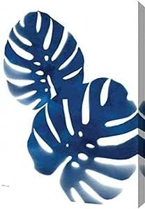 "PrintArt GW-POD-59-SM15793-12x16""蓝色热情"" 由 Stephanie Marrott 画廊装裱艺术微喷油画艺术印刷品 9"" x 12"" GW-POD-59-SM15793-9x12"