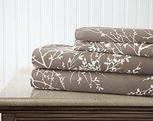 Spirit Linen 171-LB Milano Solid Bed Sheet, Twin, Light Blue