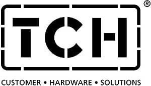 TCH Hardware 通用过滤器 20-PPI 黑色粗糙泡沫 24 x 12 x 0.5