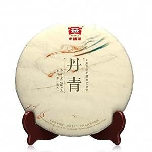 大益 【现货出售】 普洱茶熟茶 丹青 357g 七子