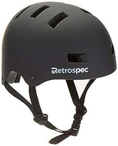 Retrospec cm-1 自行车/滑板头盔,适用于成人 CPSC 认证通勤、自行车、滑冰