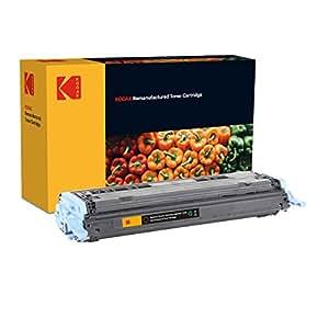 Kodak Supplies 185H600001 碳粉 2500 页 黑色 适用于 Hewlett Packard CLJ1600 兼容 Q6000A/124A/9424A004/707BK
