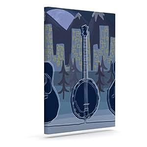 Kess InHouse Jaidyn Erickson Mountain Song 户外帆布壁画,40.64 x 50.8 cm