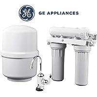 General Electric Appliances 三级水槽过滤系统,反渗透,GXRM10RBL,过滤铅,氟,氯,囊肿,砷,镉6(NSF / ANSI 58)