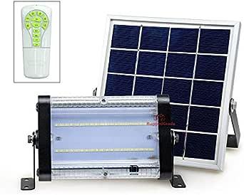 大功率 1000流明太阳能运动 LED 泛光灯 -10 瓦大功率灯 - 商业级泛光灯 - 可调节安装 - 太阳能 LED 泛光灯 - 8000mAh 充电电池 20 Watt - Solar Wall Light - No Motion Sensor 24-116