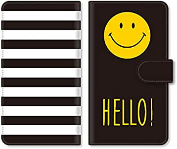 simple smart phone 2 401SH 保护壳 保护套 翻盖式 i02sc02h-tpi02  GALAXY S7 edge SC-02H 微笑