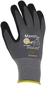 Maxiflex Gardissimo 2440 手套,尺码 9,灰色/黑色